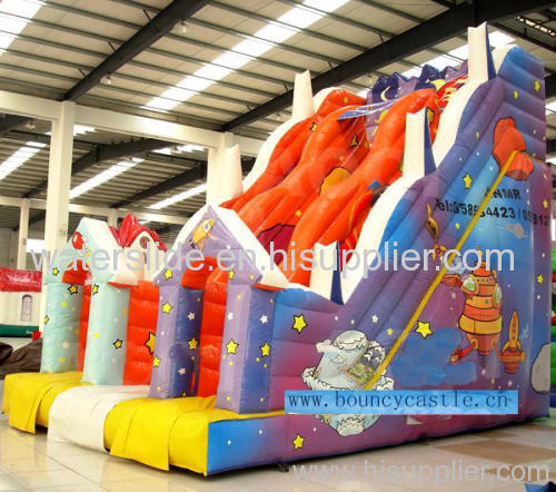 double lanes giant inflatable