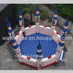 round special design inflatable bouncy castle