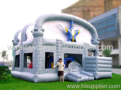 wizard inflatable house