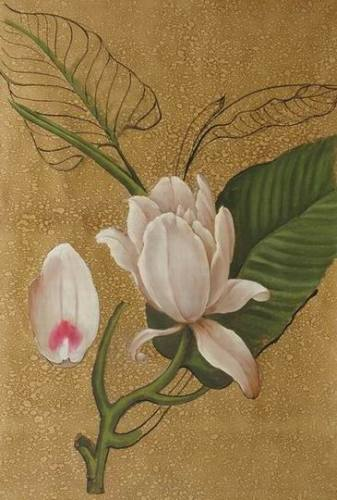 Pure white flower oil painting from china manufacturer belong pure white flower oil painting mightylinksfo