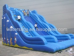 Huge waterslide