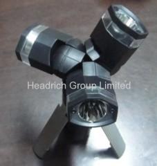 LED Tripod flashlight