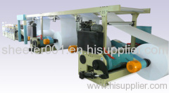 A4 A3 F4 cut size web sheeter with packing machine