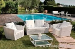 Rattan wicker outdoor patio sofa