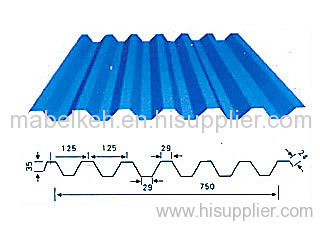 Painted Aluminum Sheet For Roofing Trapezoidal Aluminum