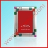Silver plated metal oil iron photo frame