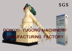 biomass briquette making machine made by yugong