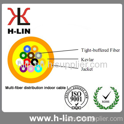 multi fiber indoor distribution optical cable products china