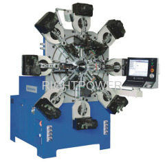 1.2-4.0mm Camless CNC Multi-Axes Spring Former Machine