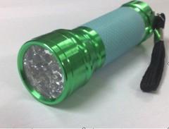 fluorescence leather LED flashlight