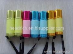 Fluorescent flashlight