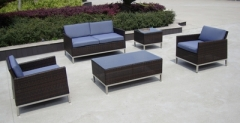 Outdoor furniture stainless steel sofa
