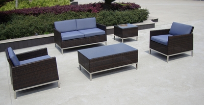 Outdoor Furniture Stainless Steel Sofa From China Manufacturer
