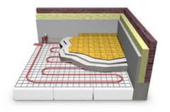 welded floor heating meshes
