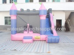 purple commercial bounce house inflatable