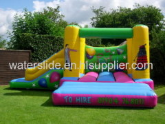 Party time inflatable bouncing castles