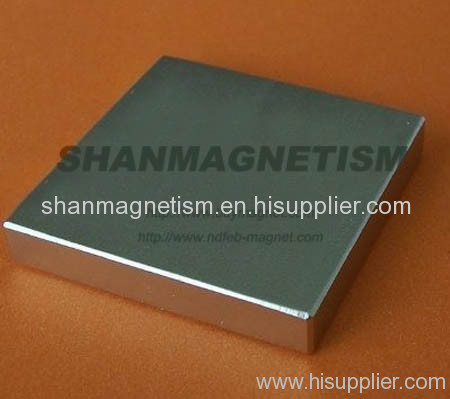 Block magnets, NdFeB magnet