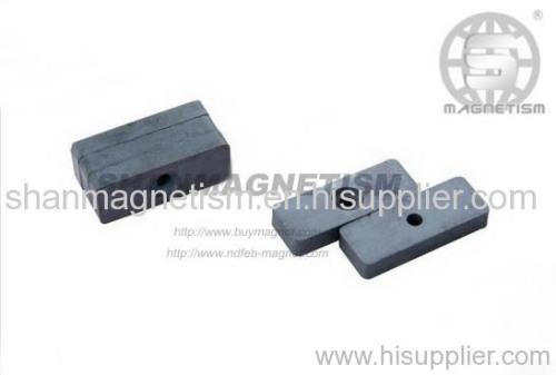 Ceramic magnet, Hard ferrite magnets