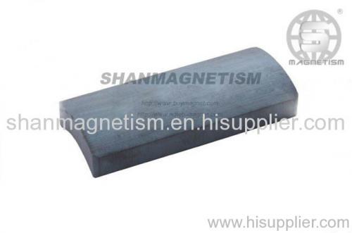 Arc ferrite magnets Motor magnets