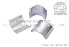Arc and segment magnet NDFEB MAGNETS Rare earth magnets
