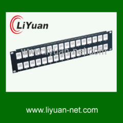 32 port blank patch panel