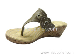 buckle thong sandal