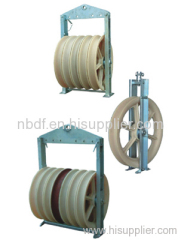 660MM diameter Overhead Line Cable Stringing Blocks