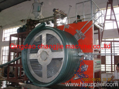 HDPE winding pipe extruder