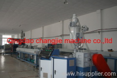 HDPE winding pipe extruding machine