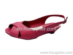 cross strap sandal