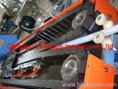 PE single wall corrugated pipe extruding machine