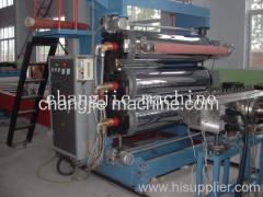 PVC plate making production line
