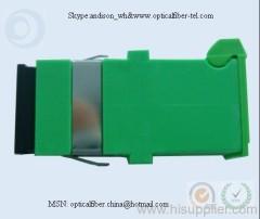 SC/APC With Shutter Fiber Optic Adaptor