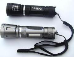 adjustable focus led flashlight