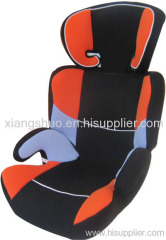 Baby car seat with back support
