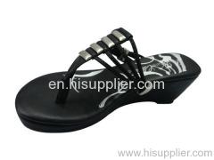 thong wedge slipper sandal