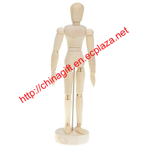 Wooden Joint Moveable Manikin People
