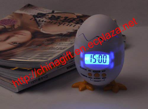 Poppy Chick Egg Alarm Clock Timer