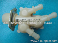 Washing equipment solenoid valve