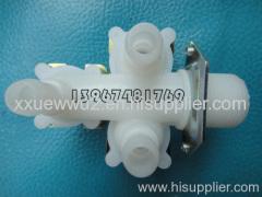Three-way solenoid valve