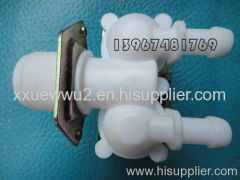 To the inlet valve
