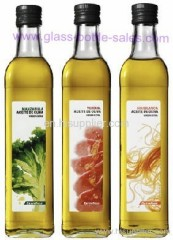500ml Clear Olive Oil Glass Bottle