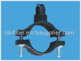 Wastewater quick fastener