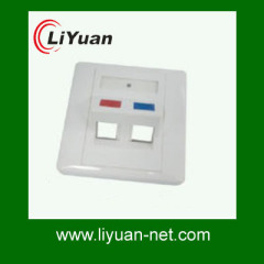 networking wall face plate