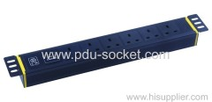 7 ways UK PDU socket