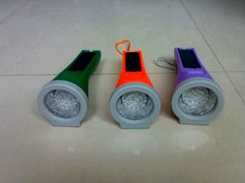 solar led flashlights