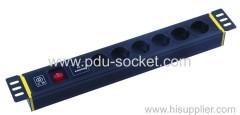 8 ways Germany PDU Socket