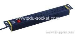 6 way International PDU Socket