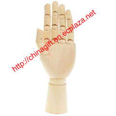 Wooden 15-Joint Moveable Manikin Hand Model