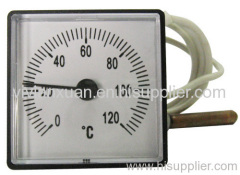Boiler capillary thermometer